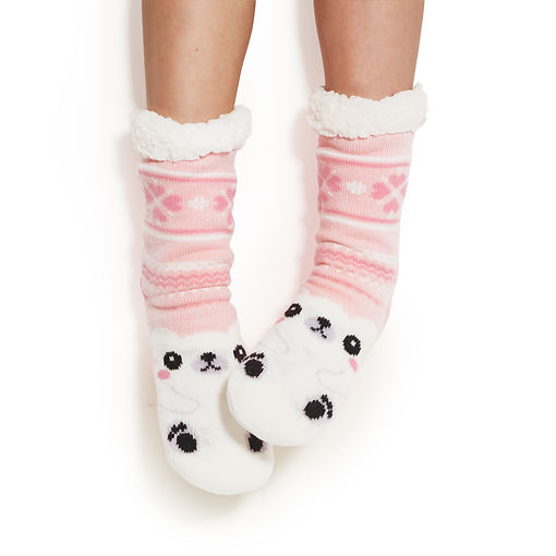 Cute Animal sherpa socks