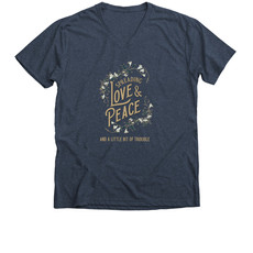 Trouble Clothes navy tee.jfif