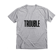 gray v-neck tee trouble clothes.PNG