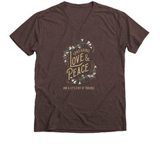 Trouble Clothes brown tee.jfif