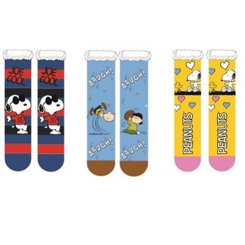 Licensed Peanuts Sherpa Socks V2.jpg