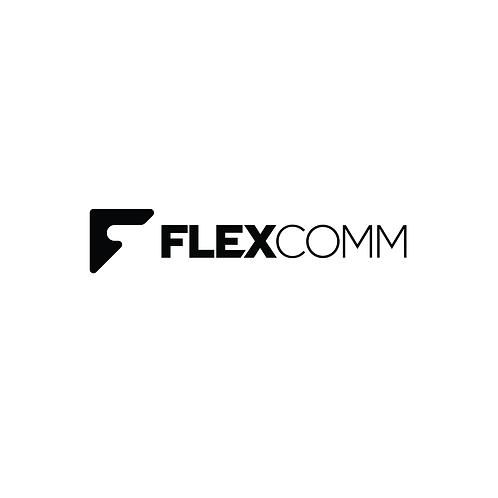 FlexComm Modern Logo & Branding Package