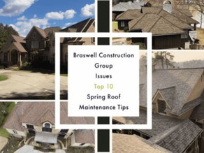 Roofing Contractor Conyers GA Issues Top 10 Spring Roof Maintenance Tips