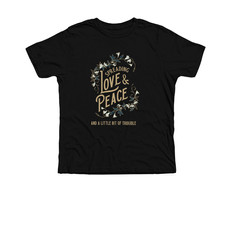 Trouble Clothes black youth tee.jfif