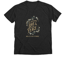 Trouble Clothes charcoal tee.jfif