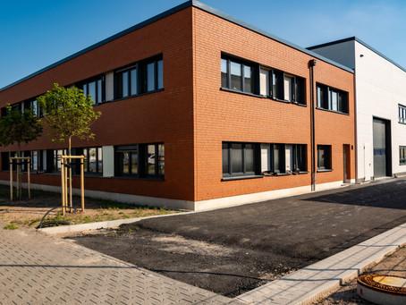 Bau eines repräsentativen Gewerbeobjektes in Dietzenbach 3700 m² mit PP Bausysteme