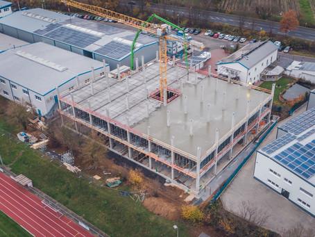3-geschossiges Montage- und Bürogebäude mit Mensa in Gründau-Lieblos