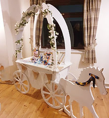Horse and cart candy Cart