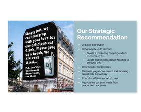 Oatly - Strategic Recommendations