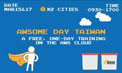 AWSome Day Taiwan Sticker