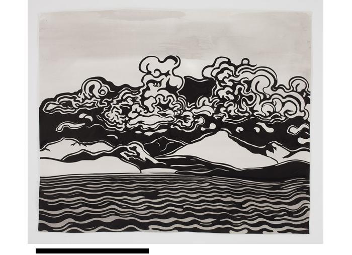 6/18 Observing the Landscape: Brush&Ink