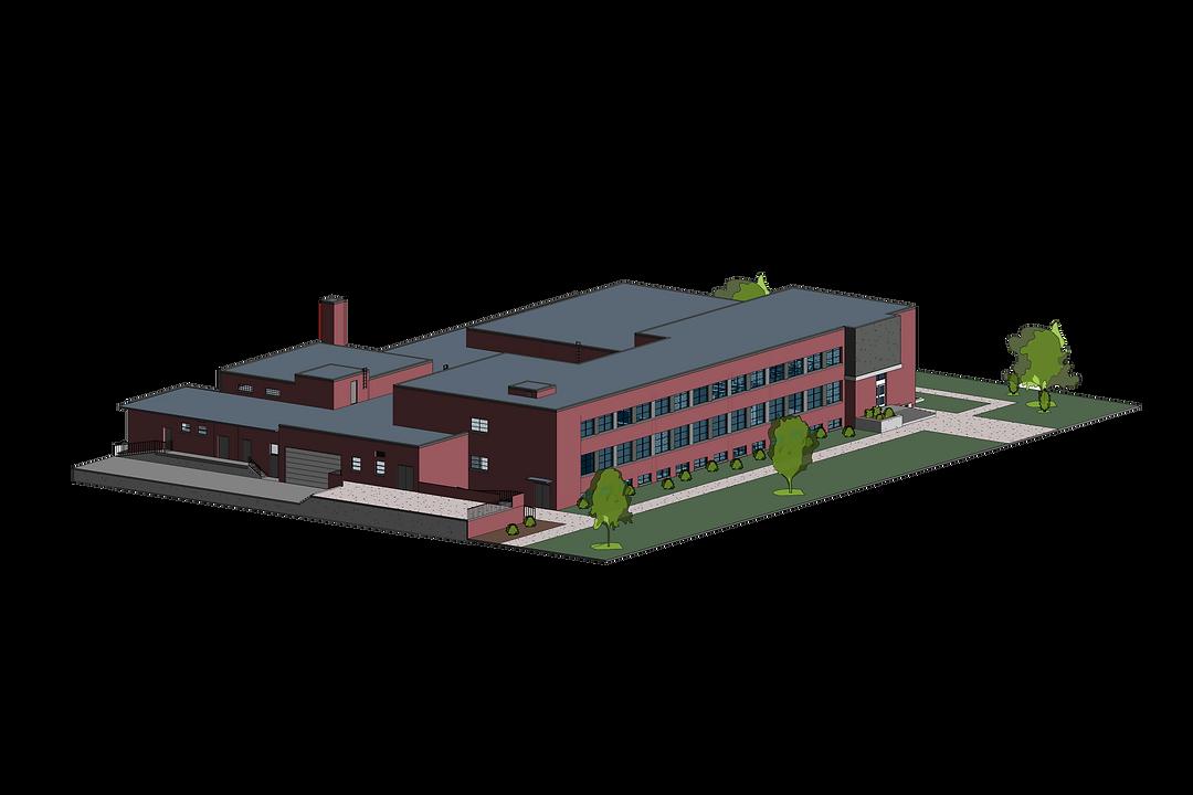 Animal Science Building 3d (0156) Render
