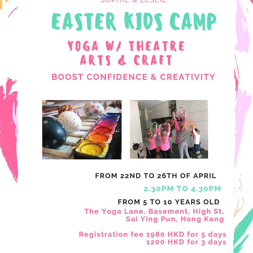 Yoga w/ Theatre and Arts Kids Camp