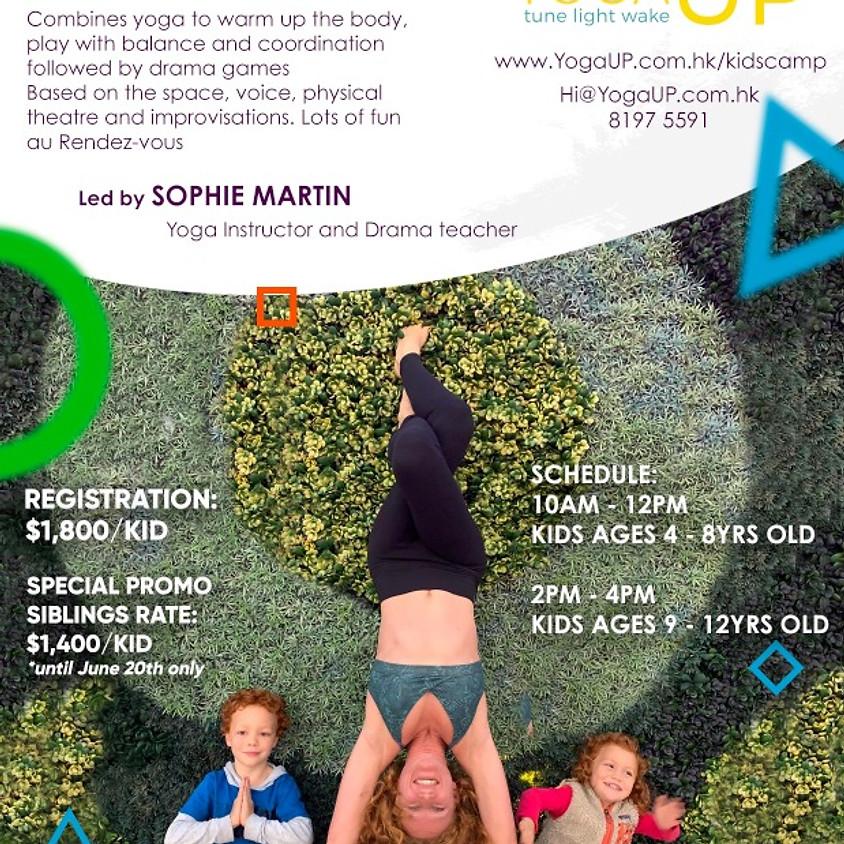 Kids Camp Yoga & Drama