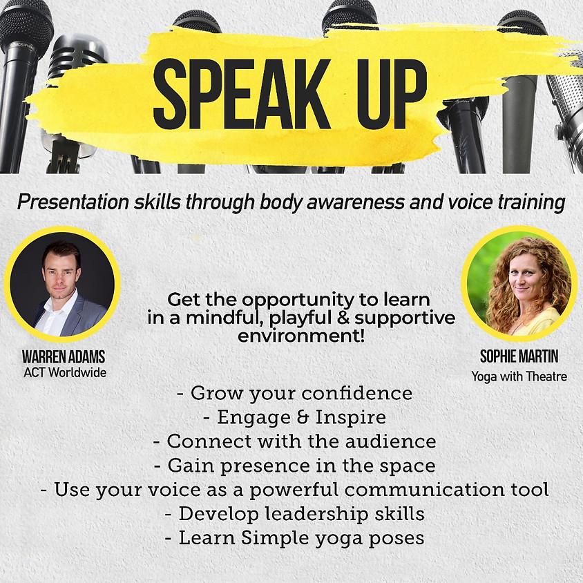 Presentation Skills through Body Awareness and Voice Training