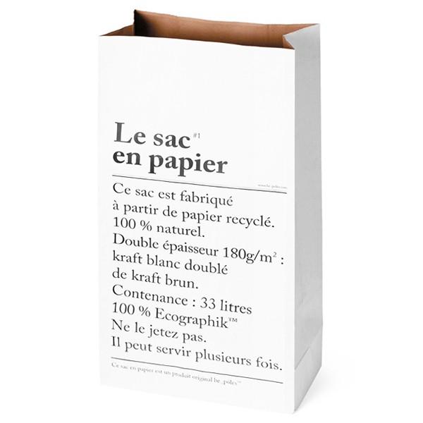LE SAC EN PAPIER / 6 €