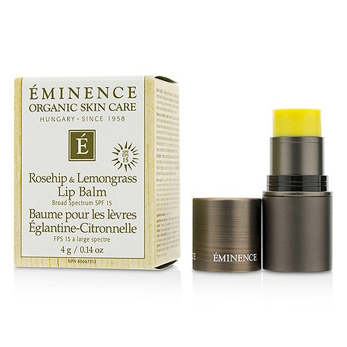 Rosehip & Lemongrass Lip Balm SPF 15