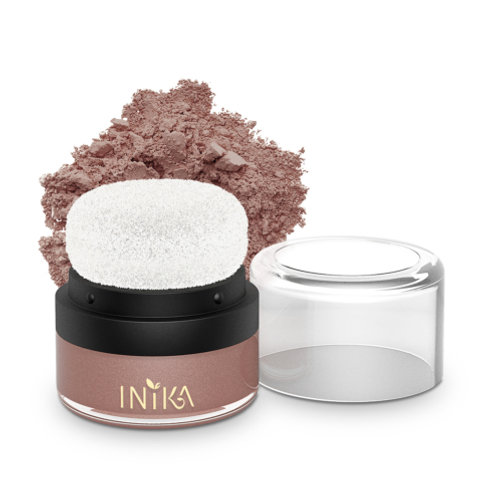 Mineral Blusher Puff Pot- Rosy Glow