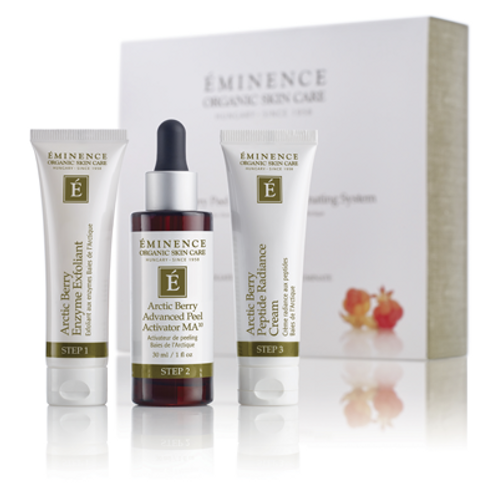 Arctic Berry Peel and Peptide System