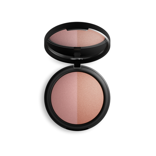 Mineral Baked Blush Duo