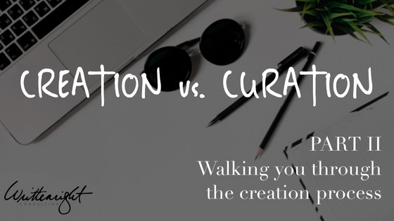 Creation vs Curation, Part II