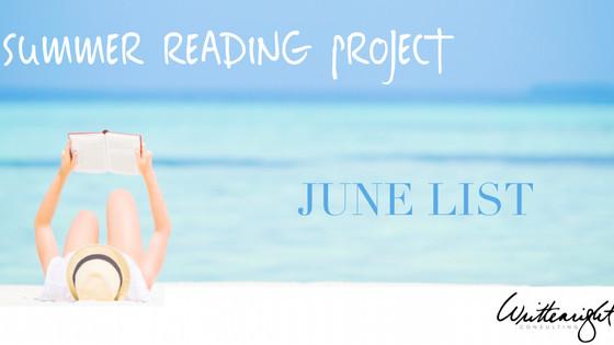 June List : Summer Reading Project
