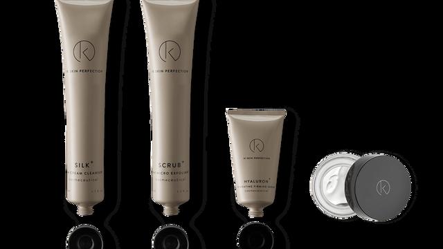 Reset your skin treatment. 3X Voordeel; Reset behandeling + Resetbox + 24H Fullsize verzorging. € 79,-