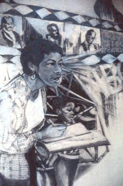 Mwalimu Teaches & Creates Form