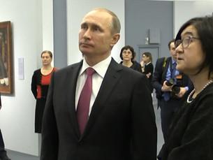 Владимир Путин против Владимира Ленина и Мировой Революции иже с ним.
