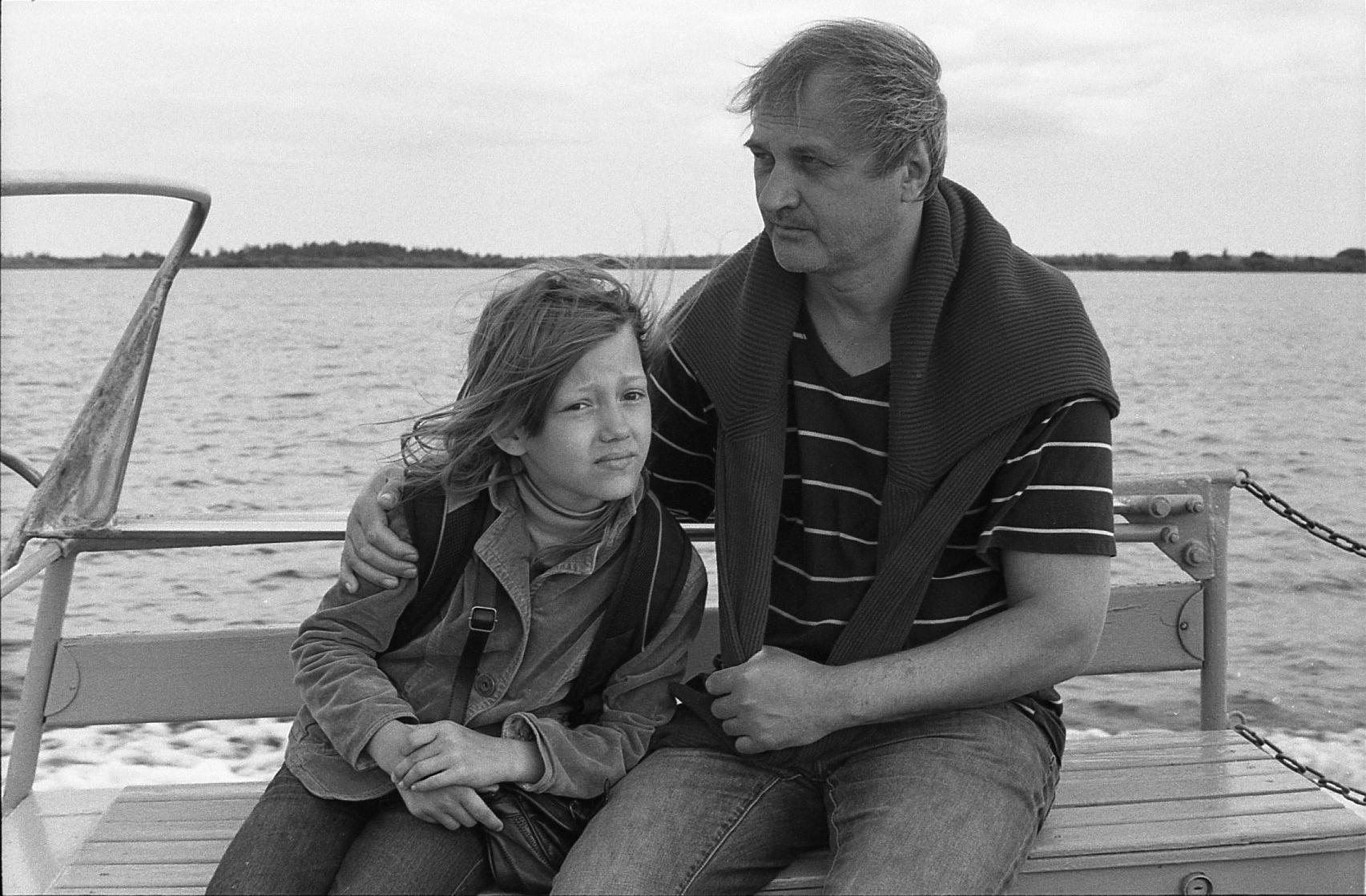 Барановский А.В. с дочерью