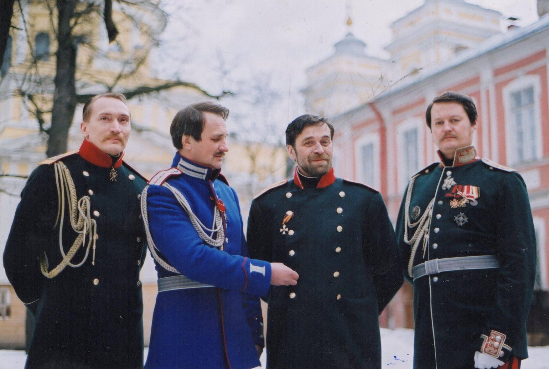 На съемках фильма про Достоевского