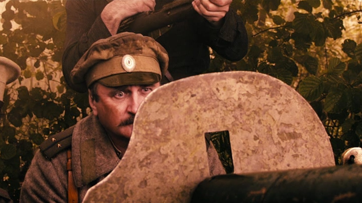 Кадр из фильма Чапаев