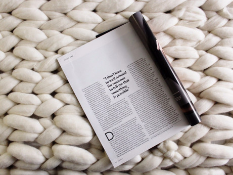 Arm Knitting a Chunky Blanket