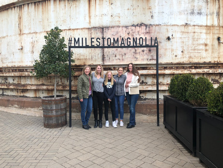 Miles to Magnolia: Visiting the Silos