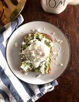 Avocado Toast & Poached Eggs