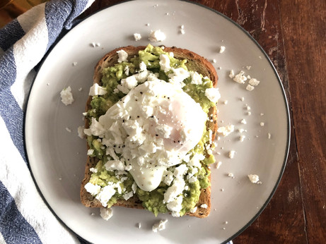 Avocado Toast & Poached Eggs