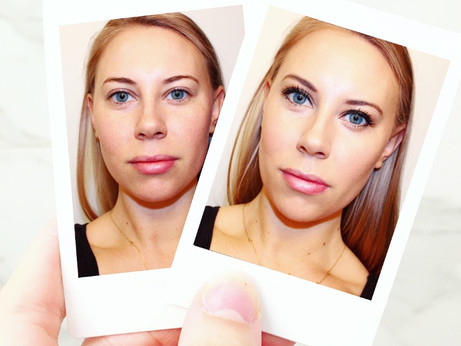 Before and After with IT Cosmetics