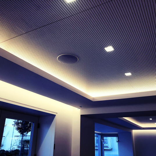 Lighitng and Ceiling Speaker Merrion Hotel
