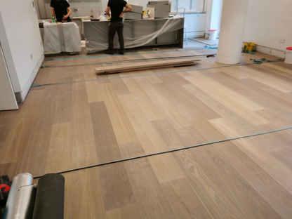 New Floor Install 1