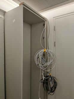 wardrobe cabling