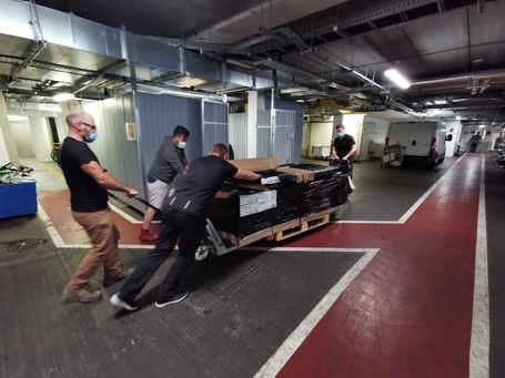 floor delivery