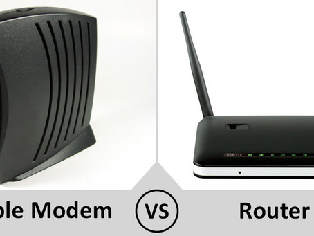 What is the difference between a Router and a Modem???