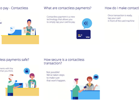What is a contactless payment card?
