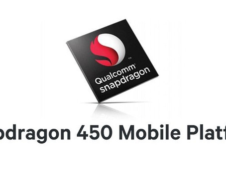 QUALCOMM'S SNAPDRAGON 450 PACKS A POWERFUL PROCESSOR!