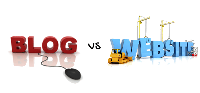 blog-vs-website