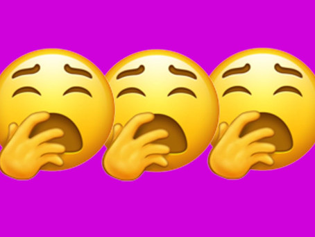 These New emoji include mechanical arms, One of the new Emojis might make you physically yawn..!!