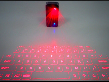 How Do They Work? Laser Keyboards!