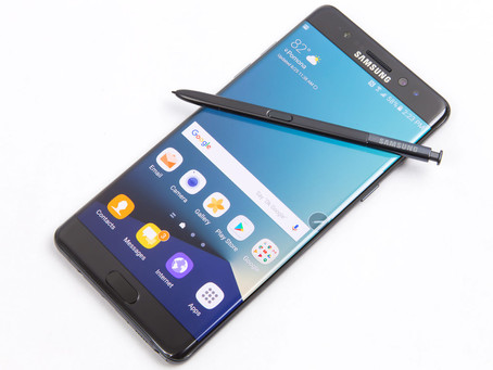 Here's Why Samsung Galaxy Note 7 Catches Fire.