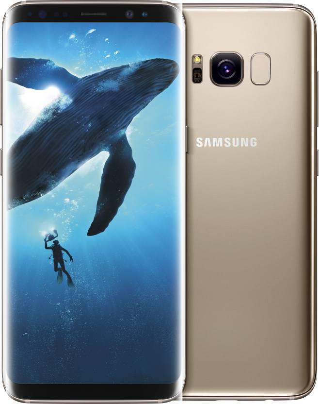 Samsung Galaxy S8 Plus (Maple Gold, 64 GB)