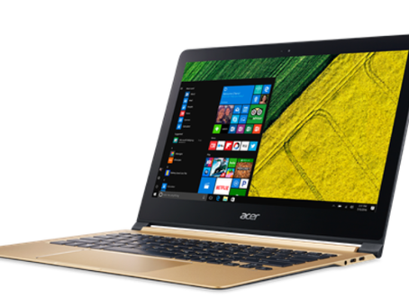 Acer Swift 7 laptop launched: Price, specifications, and features.